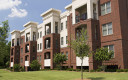 neatly landscaped apartments